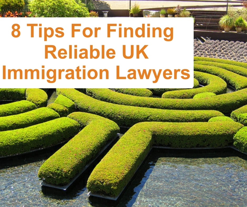 Top Tips For Finding a Reliable UK Immigration Lawyers