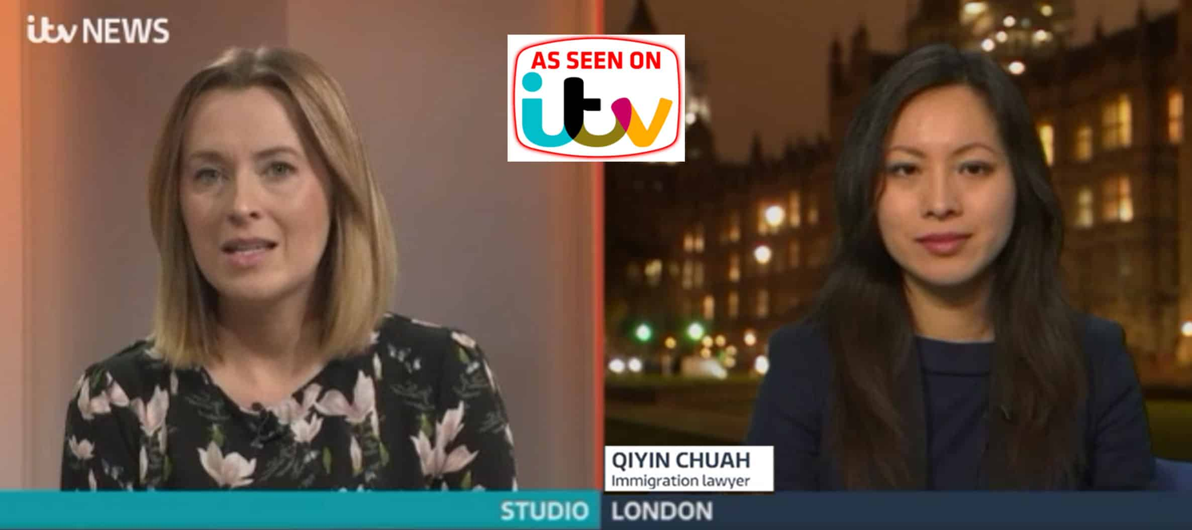 UK Immigration Lawyer - QC Immigration - Featured on ITV